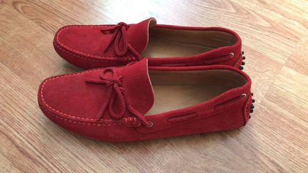 Tod's Men Loafers Red US9.5 - 145$ Thumbnail