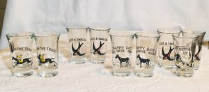 Vintage shot glasses for Sale in Annandale, VA