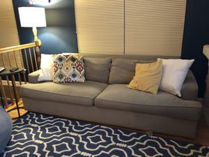 Sofa chair ottoman for Sale in Lorton, VA