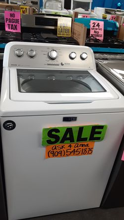 🔴Maytag topload washer 🔹️🔸️ASK 4 ANNA🦋🚚SAME DAY DELIVERY🚚💲PAYMENT PLANS AVAILABLE💲❌NO CREDIT NEEDED❌ Thumbnail