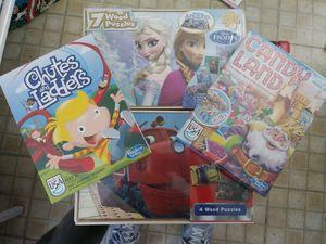 Games n puzzles for Sale in San Antonio, TX
