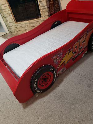 Photo Nice Disney McQueen Twin Bed --- Cama tamaño individual Disney McQueen