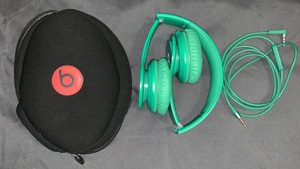 Beats Solo Hd Wired On Ear Headphones Matte Green For Sale In Portland Or Offerup
