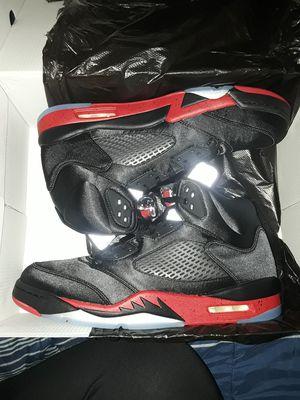 Retro Jordan 5 Bred Colorway for Sale in Baltimore, MD