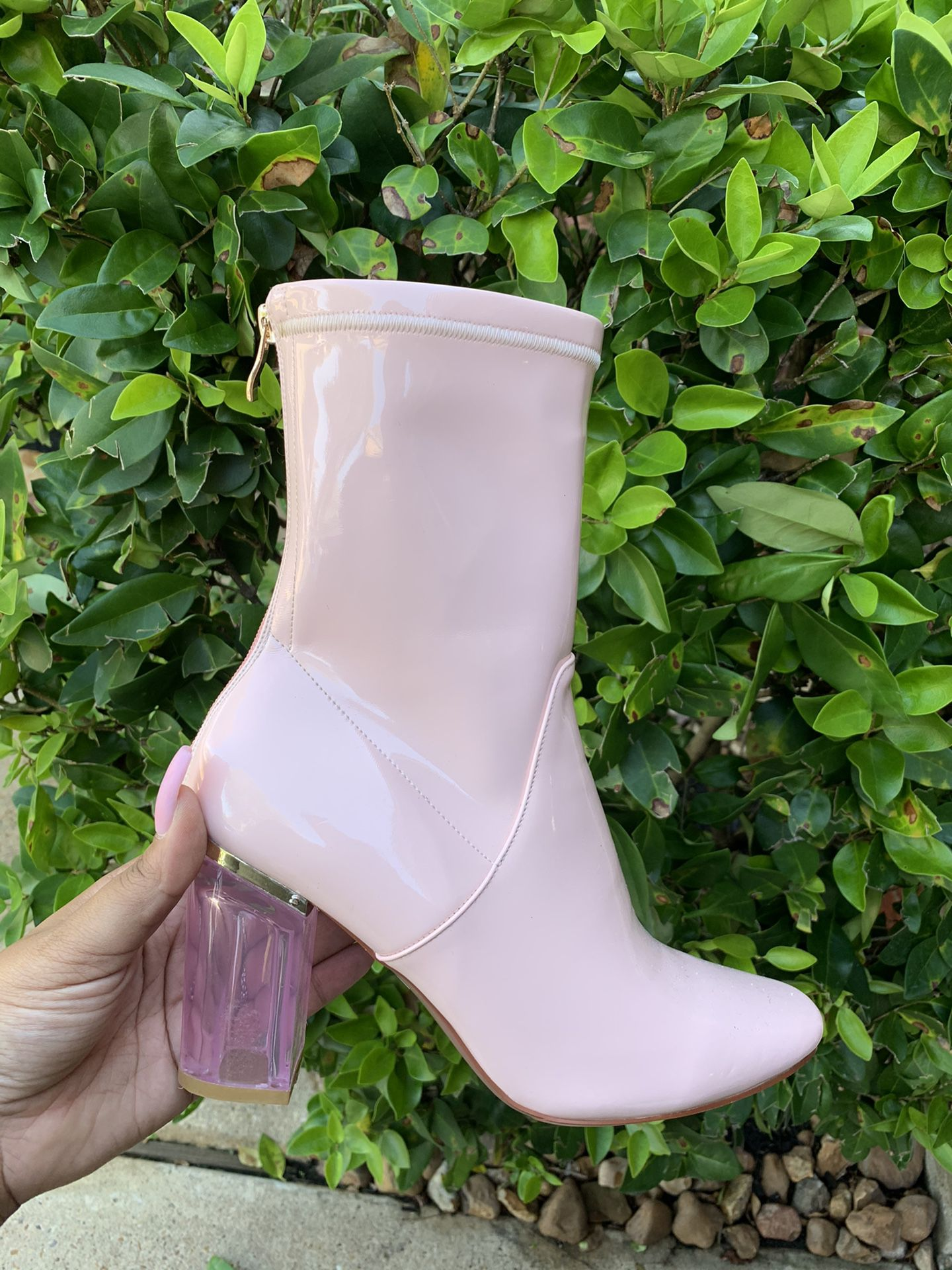 Trendy Pink boots