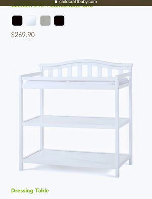 Baby's childcraft changing table & dressing Table and storage table for Sale in Rockville, MD