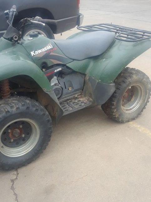 Kawasaki 400cc praire