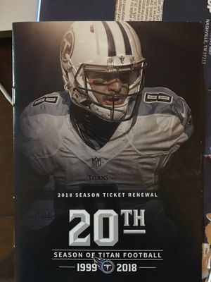 Titans vs Ravens Tickets Club Level for Sale in Brentwood, TN