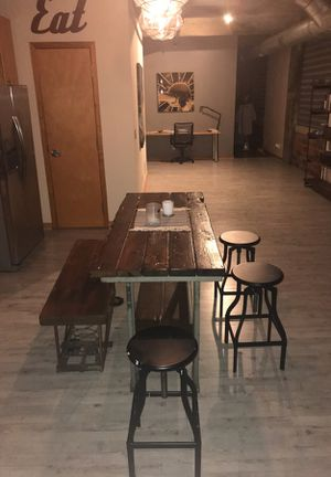 Custom Dining Table Bench And Chairs For Sale In Cincinnati OH