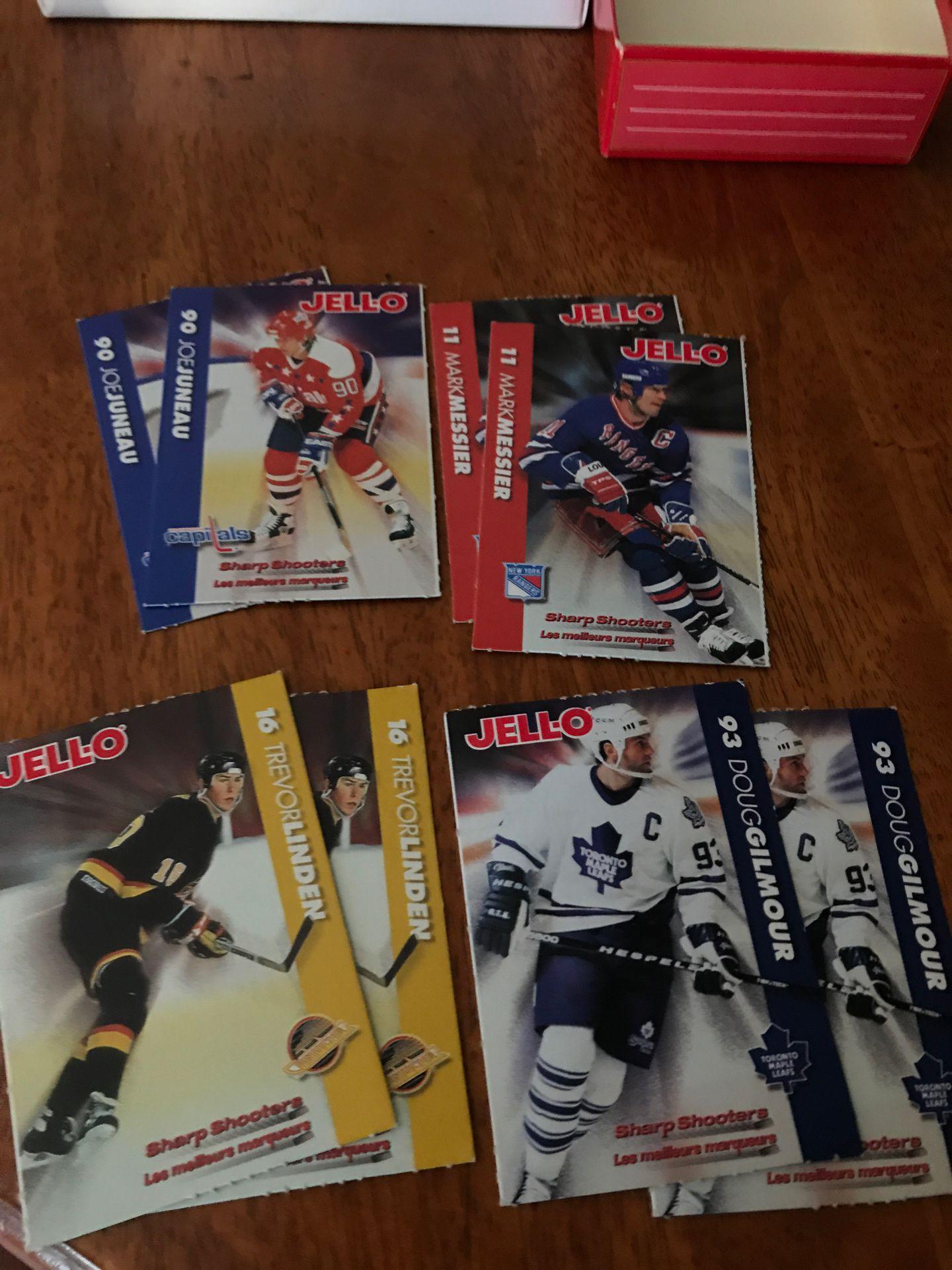 Jello-0 1994 hockey trading cards