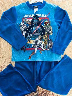 Star Wars Boys Pajama Set M 6/7 new Thumbnail