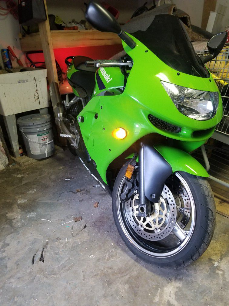 Kawasaki 600 Zx6r