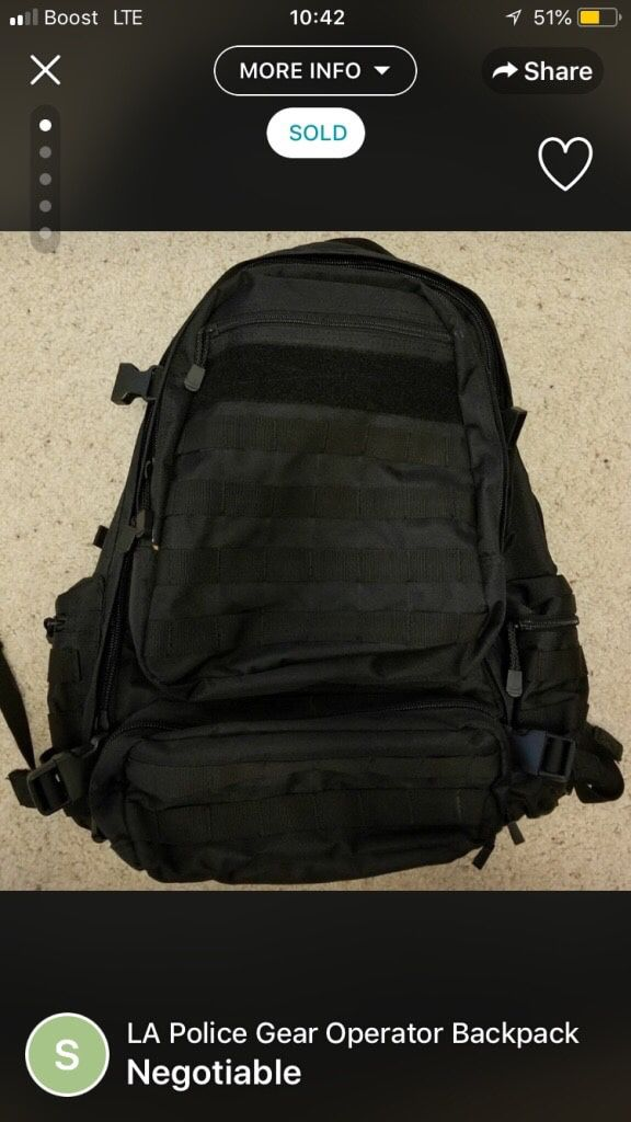 Gear Operator Backpack for Sale in Fresno, CA - OfferUp