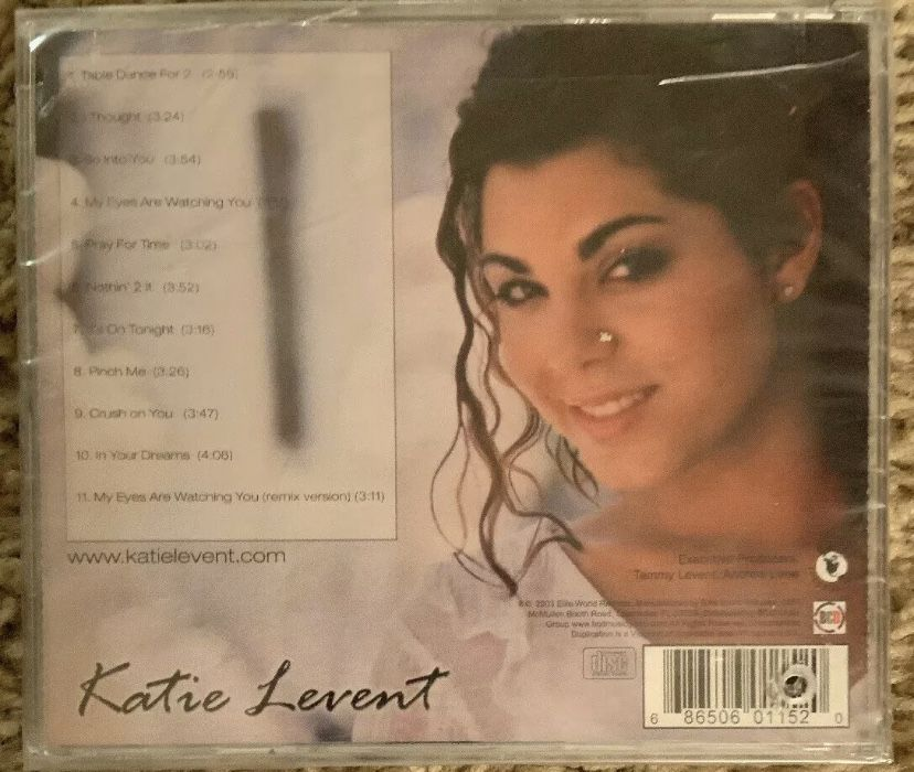My Eyes Are Watching You - Katie Levent CD- Brand New