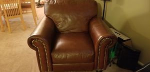 Leather Recliner and Sofa for Sale in Saint Charles, MD