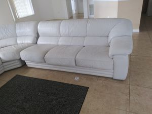 Super New And Used White Sectional For Sale In Jupiter Fl Offerup Alphanode Cool Chair Designs And Ideas Alphanodeonline