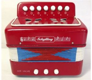 Schylling Mini Toy Red Accordion for Sale in Washington, DC