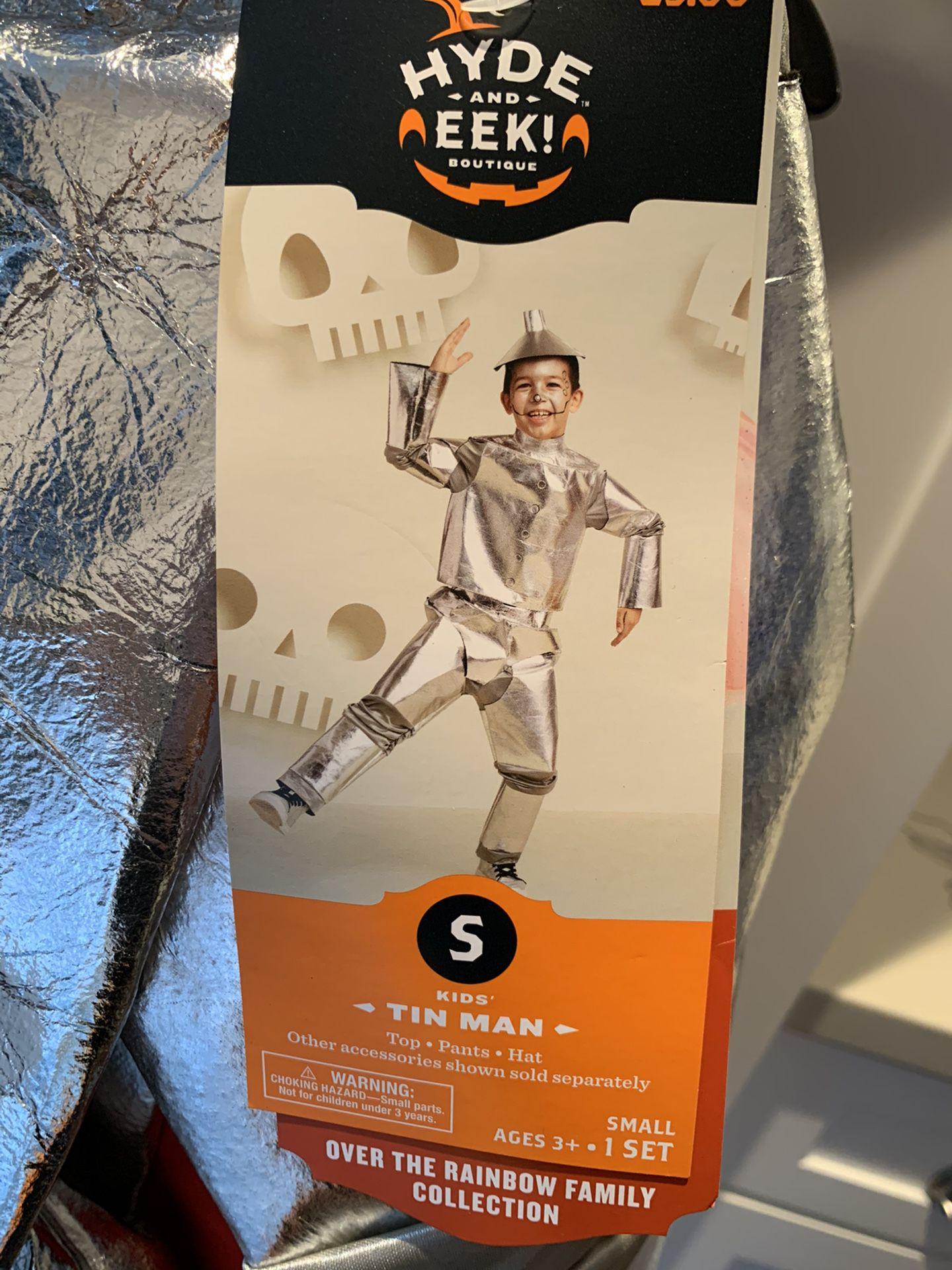 Wizard of Oz Kid's Tin Man Halloween Costume Small