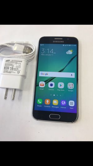 Samsung S6 Factory Unlocked Excellent Condition for Sale in Springfield, VA