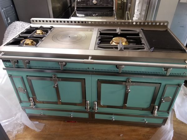la cornue chateau 150 gas range new with warranty for sale in dallas tx offerup. Black Bedroom Furniture Sets. Home Design Ideas
