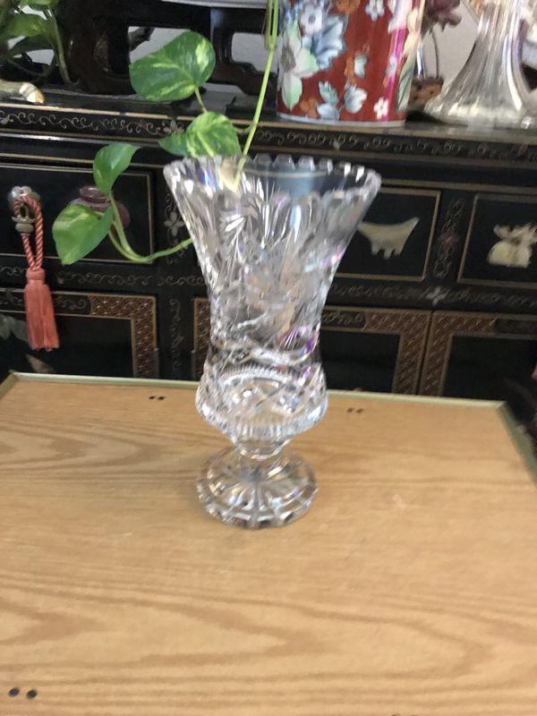 Beautiful Crystal Vase Household In Corona Ca Offerup