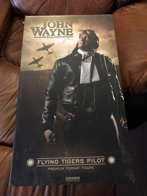 John Wayne -Flying Tiger Figure from Sideshow Toys for Sale in Phoenix, AZ