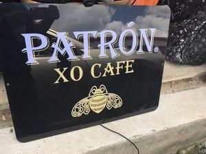 Patron XO Cafe Artlite Sign for Sale in Austin, TX
