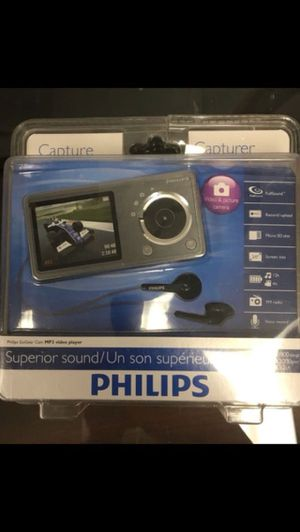 Philips GoGear CAM SA2CAM08K/37 Video Player New for Sale in Miami, FL