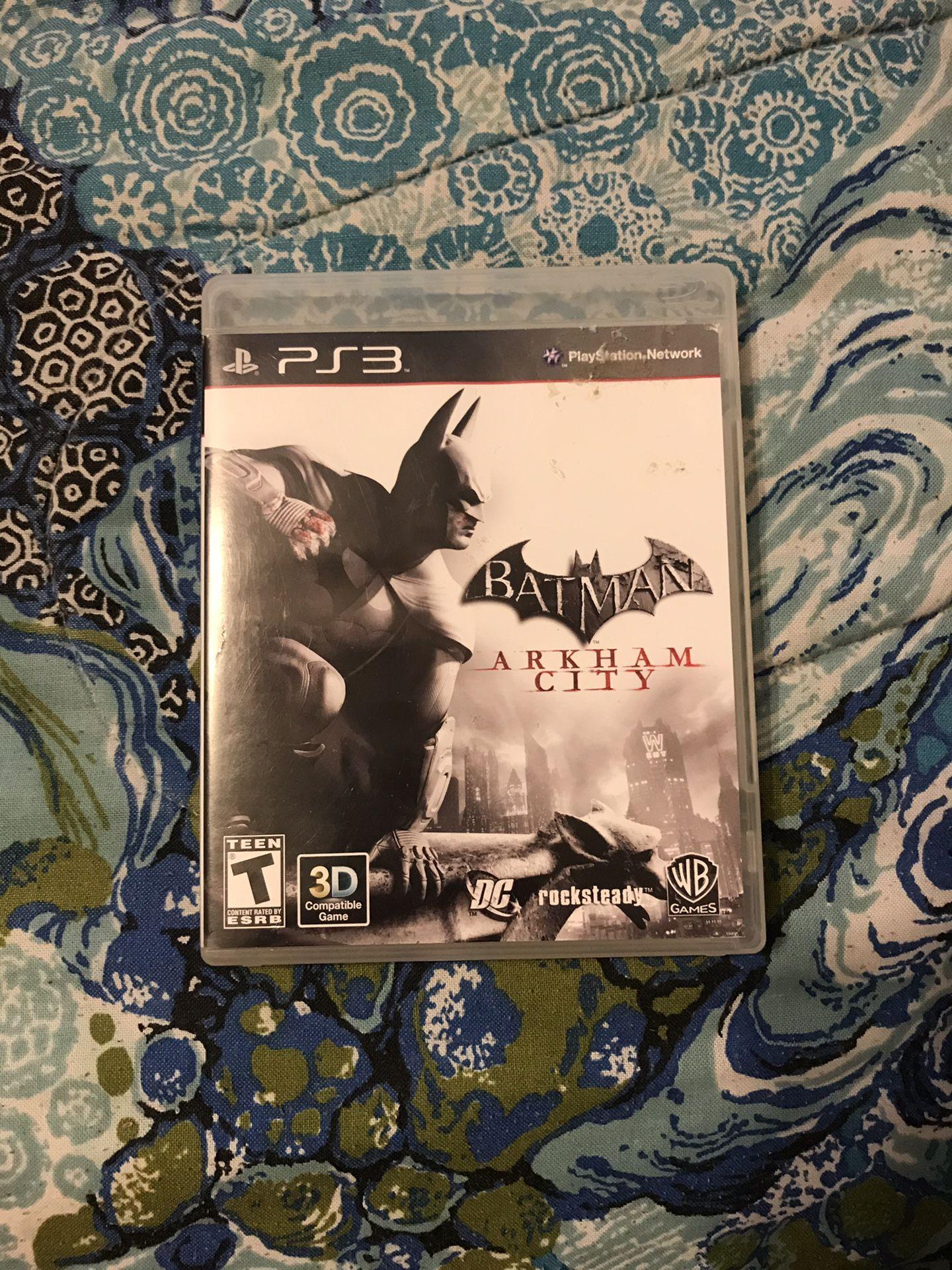 Batman Arkham city for ps3