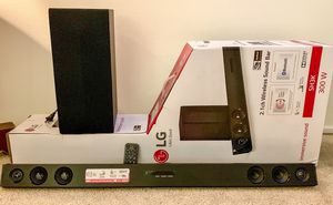 LG SOUNDBAR - SH3K 2.1ch 300W w/ Wireless Subwoofer for Sale in Santa Monica, CA