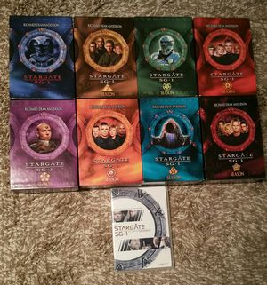 Stargate SG-1 Complete TV Series Seasons 1-9 for Sale in Washington, DC