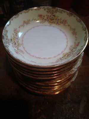 Hand painted china 18 pieces for Sale in East Carondelet, IL