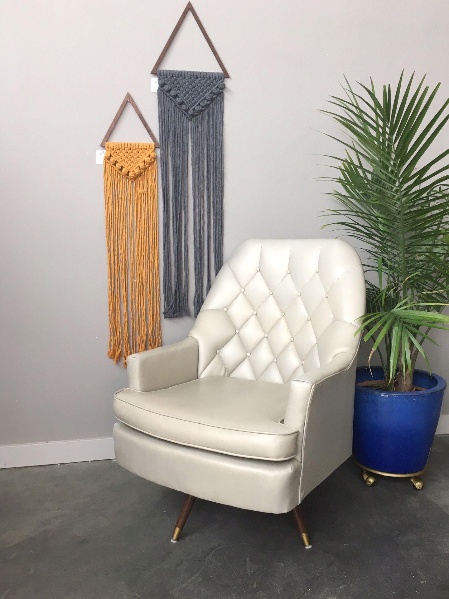 "vintage mid century modern Berkline ""King of Comfort"" lounge chair"