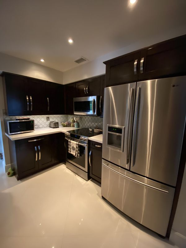 Kitchen Cabinets all wood panda with appliances for Sale ...