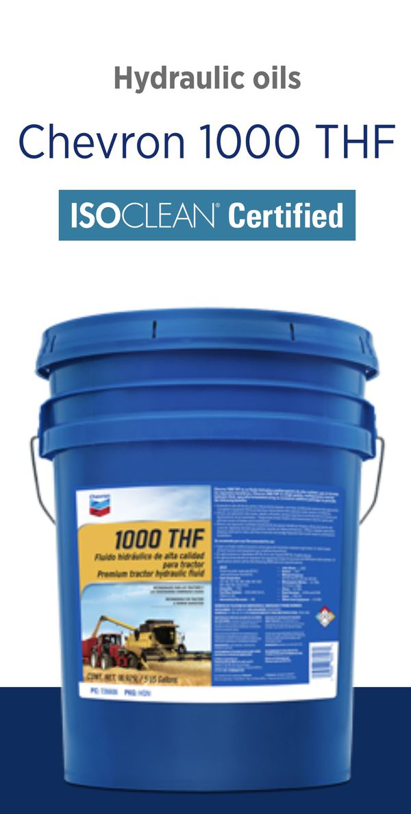 Tractor hydraulic fluid 1000 THF chevrons best all in one for Sale in  Phelan, CA - OfferUp