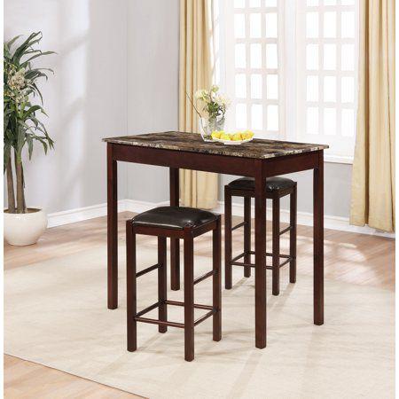 Linon Home Decor Products Inc Tavern 3 Piece Set Espresso Sku