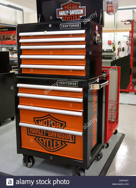 Craftsman Harley Davidson Double Stacked Toolbox Reduced 500 For