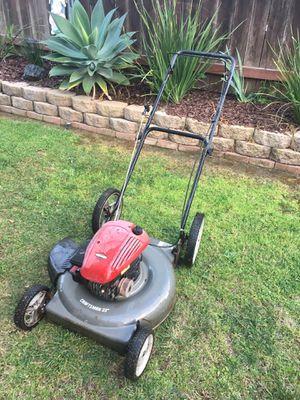 """Photo Craftsman 22"""" push lawn mower"""