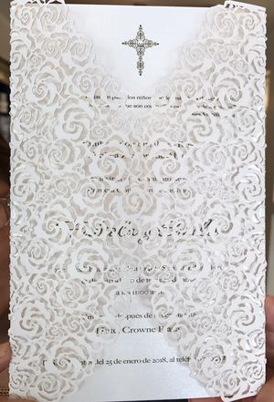 Primera comunión / first communion invitation for Sale in Miami, FL