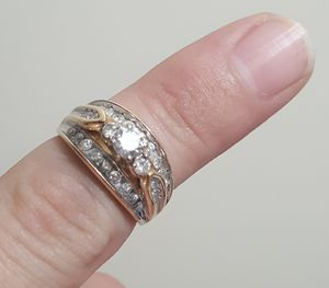 14kt Quarter Carat Diamond Bridal Wedding Ring for Sale in Columbia, IL
