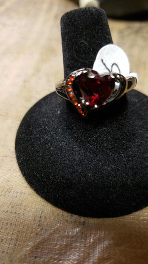 Heart shaped red ruby for Sale in Farmville, VA