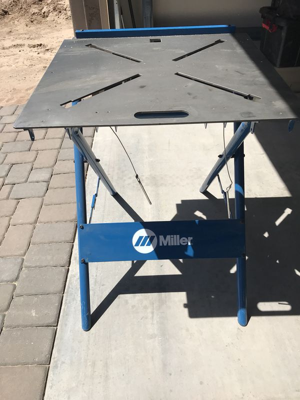 Welding Table For Sale >> Miller Welding Table For Sale In Mesa Az Offerup