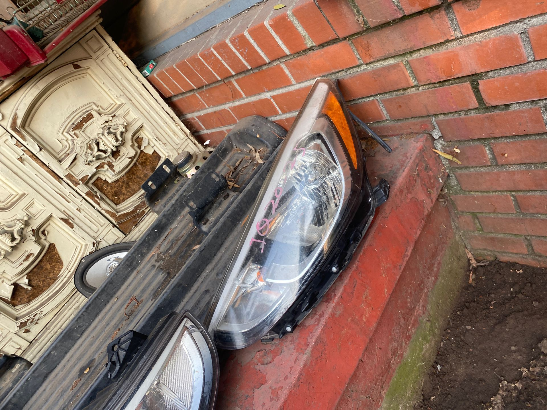 Hyundai sonata headlights