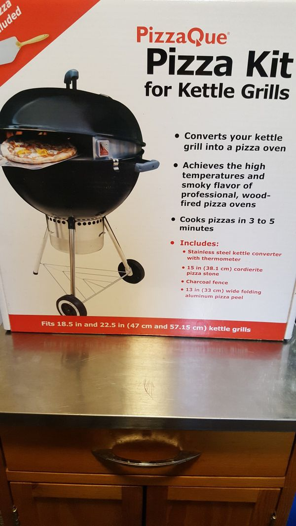 Pizza Kit For Kettle Style Charcoal Grills