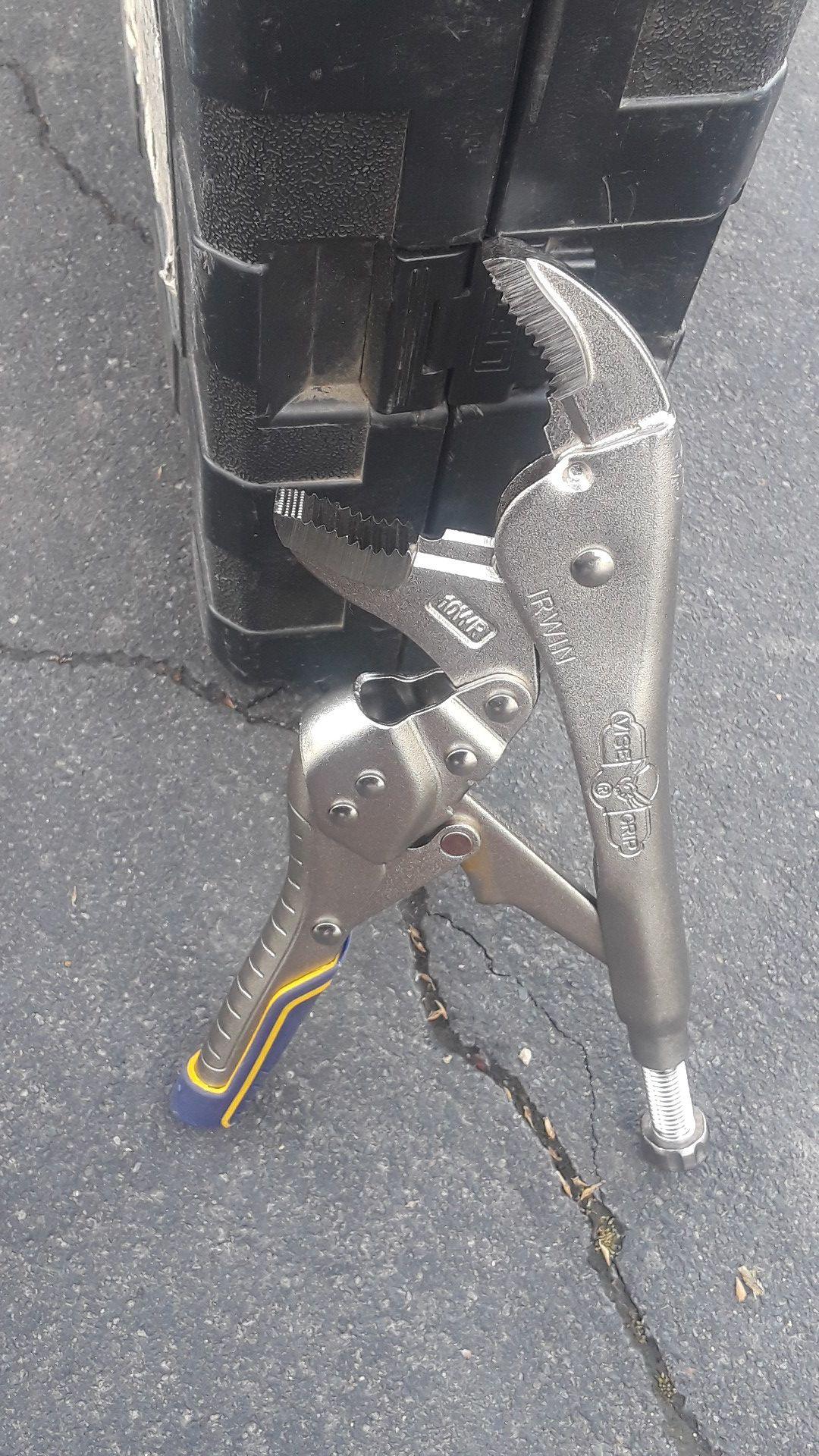 The original vise-grip locking Plier