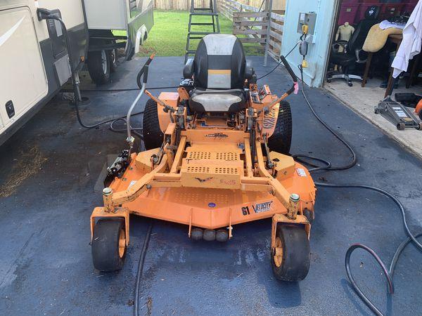 2010 Scag 61 Velocity Turf Tiger Kohler Motor 258 Hours