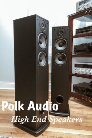 Polk Audio R40 Tower Speakers for Sale in Silver Spring, MD