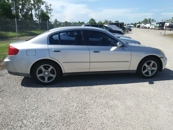 2004 Infiniti G35 Sedan Runs Mechanic Special For Sale In Cape Coral