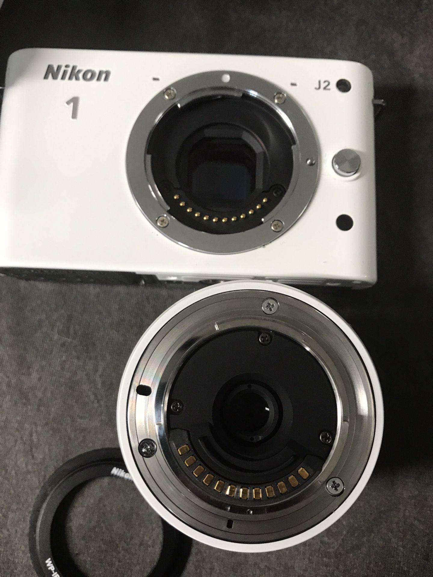 Nikon 1 J2 Digital Camera with a WP-N1 Waterproof Case