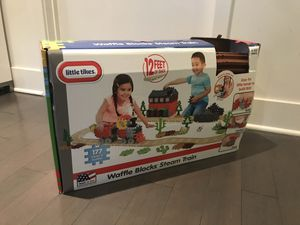 Little tikes waffle blocks steam train for Sale in Los Angeles, CA